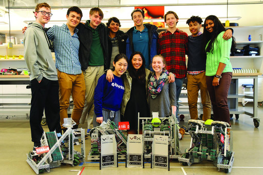 Choate Robotics Advances to Worlds