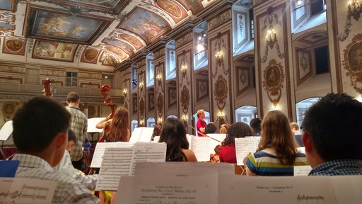 Choate Orchestra Tours Germany and Austria