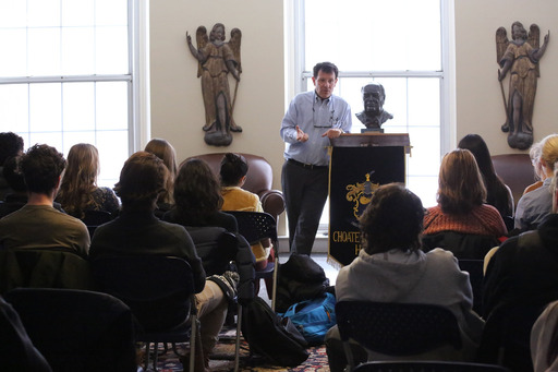 Nicholas Kristof Speaks at Special Program