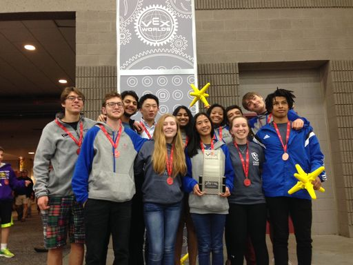 Robotics Team Returns to Worlds