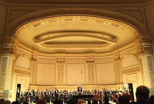 Choate Orchestra at Carnegie Hall