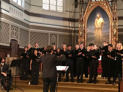 Chamber Chorus Partners with Oxfam for Benefit Concert