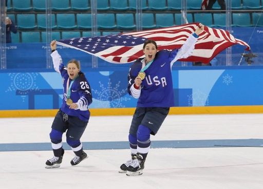 Hilary Knight '07 Claims Gold Medal