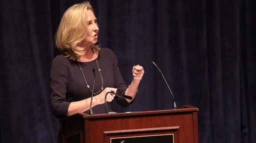 Dr. Kerry Murphy Healey Presents Stevenson Lecture