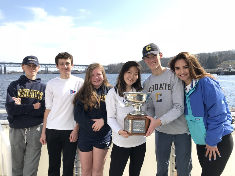 Sailing Takes Home CT Championship