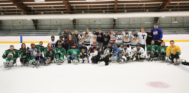 Choate Ice Hockey hosts the 3rd Annual Charity Sled Hockey Game