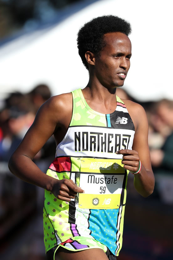 Mustafe Dahir '19 Competes at the Footlocker Cross Country Nationals