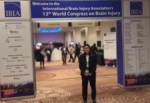 Lani Uyeno '19 Presents Concussion Research at International Conference