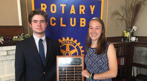 Choate Students Recognized by Wallingford Rotary