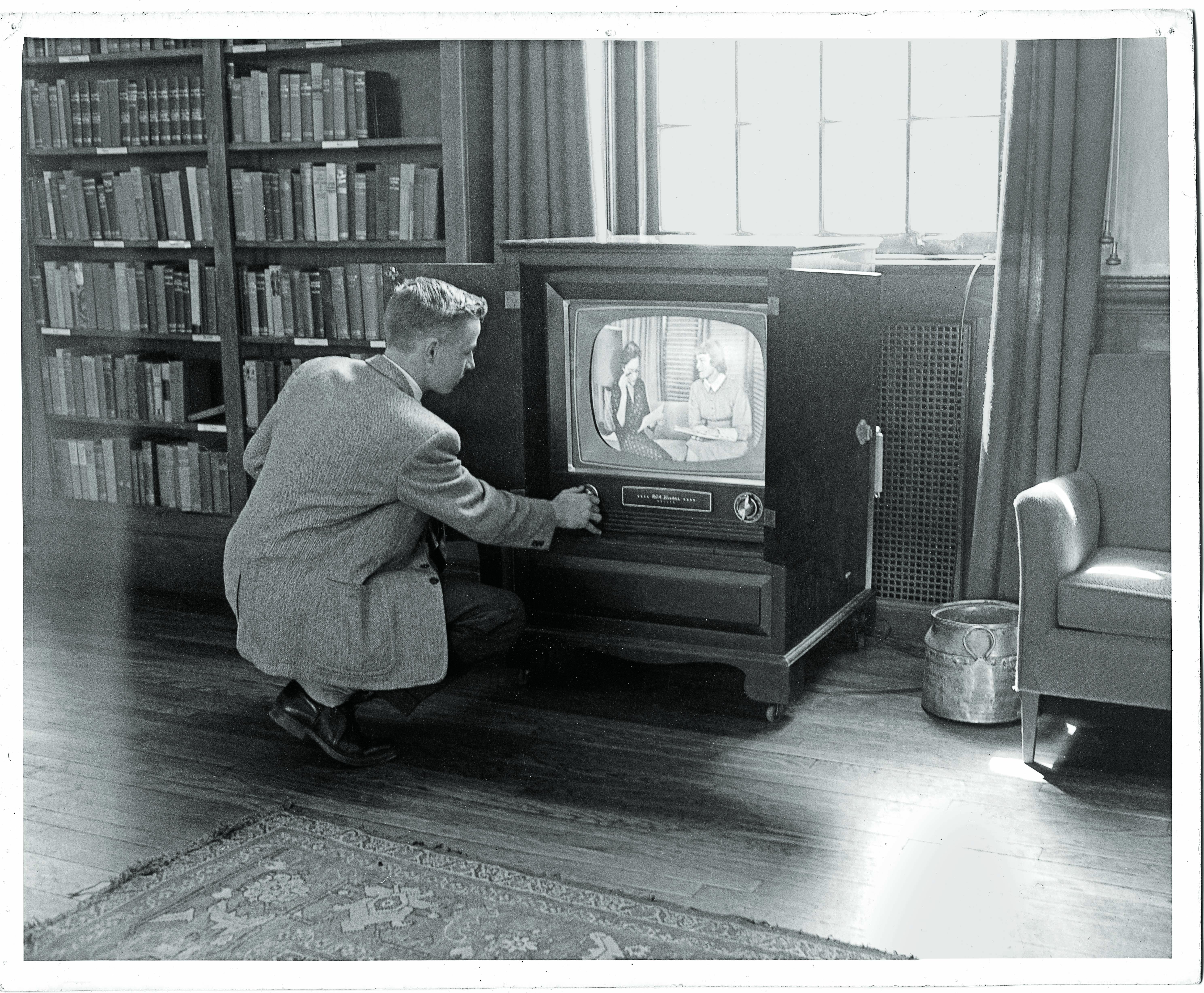 Choate's First TV   Alumni News - Choate Rosemary Hall